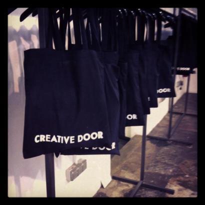 Creative Door AW13 Press Days Take Away Bags