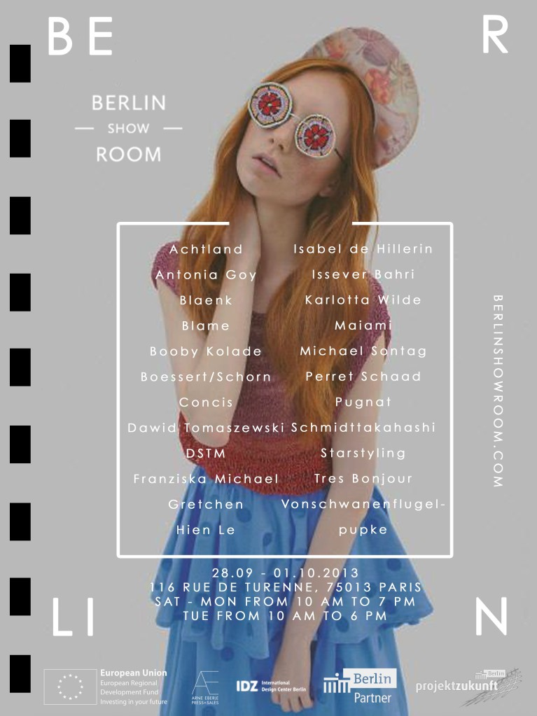 Berlin Showroom SS14 Invitation Updated