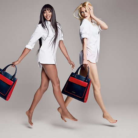 Naomi Campbell and Claudia Schiffer | Tommy Hilfiger BHI Bag