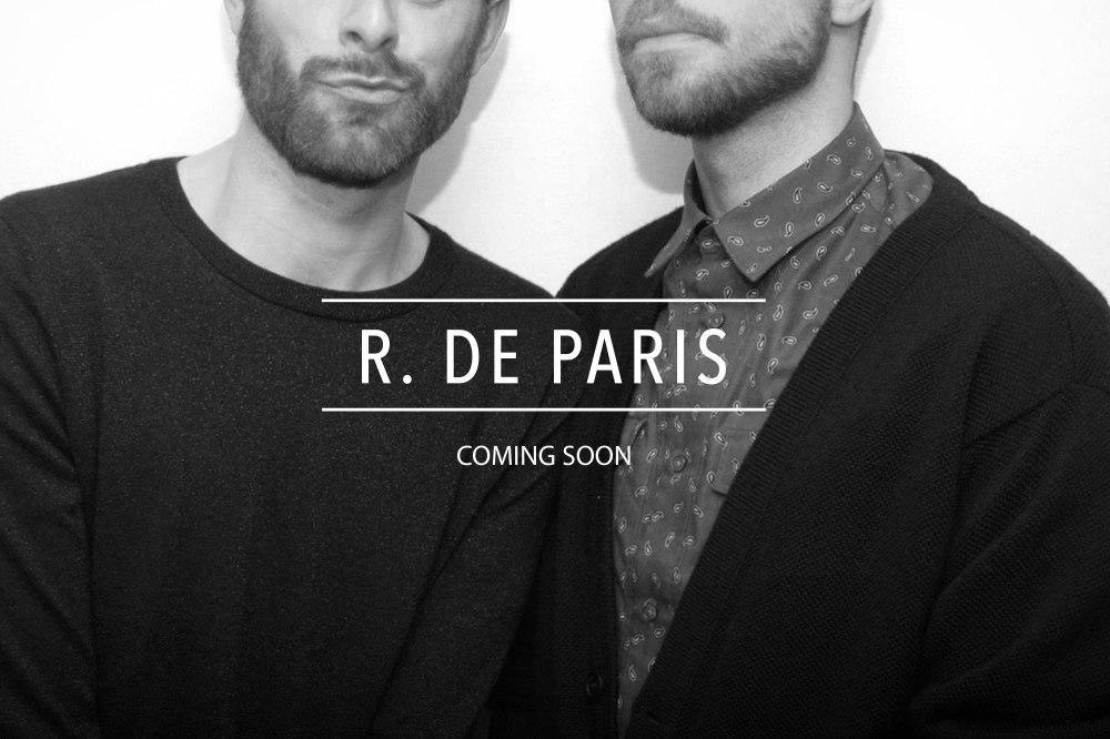 R. De Paris Proposed Landing Page