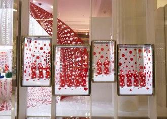Louis Vuitton X Yayoi Kusama at Selfridges London