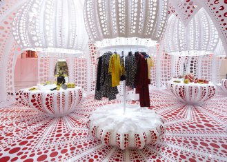 Louis Vuitton X Yayoi Kusama at Selfridges London