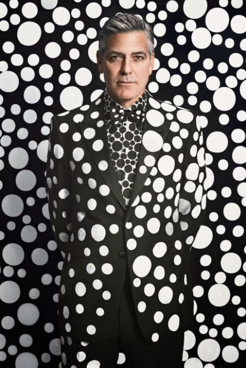 George Clooney in W Magazine Dec/Jan Issue