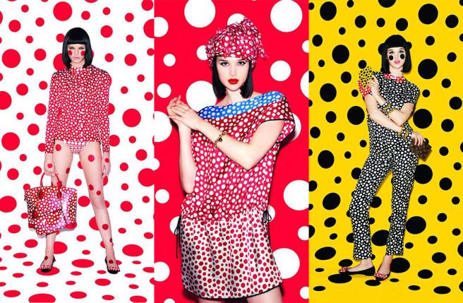 Yayoi Kusama for Louis Vuitton 2012