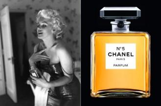 Chanel N5 with Marilyn Monroe