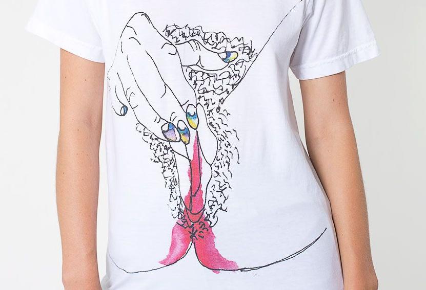 Menstruation T-Shirt for American Apparel