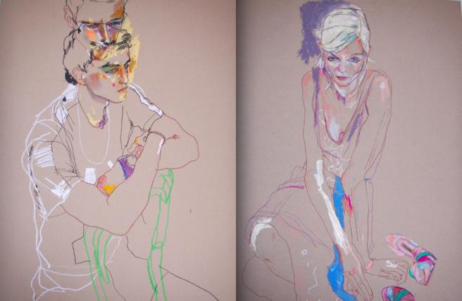 Fashion Illustration | via The Business of Fashion