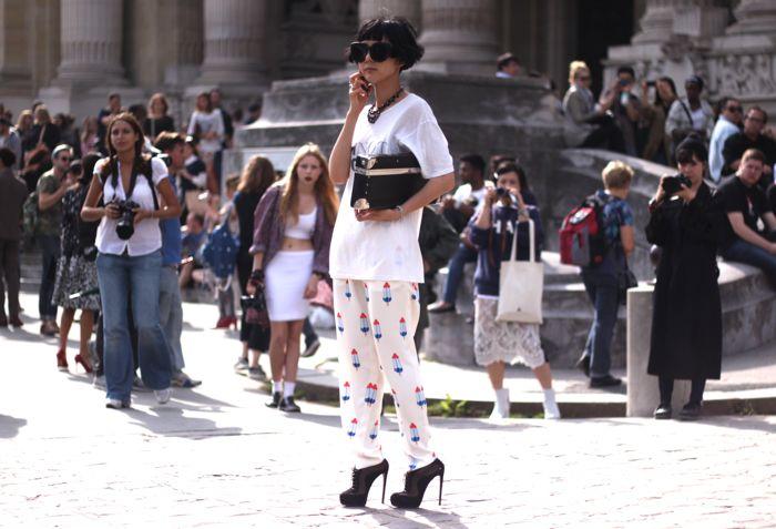 PFW Street Style | via JaneSneakPeak