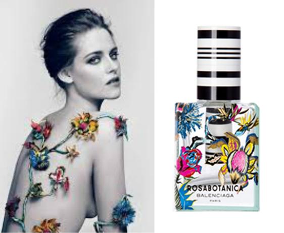 Kristen Stewart for 'Rosabotanica' Balenciaga
