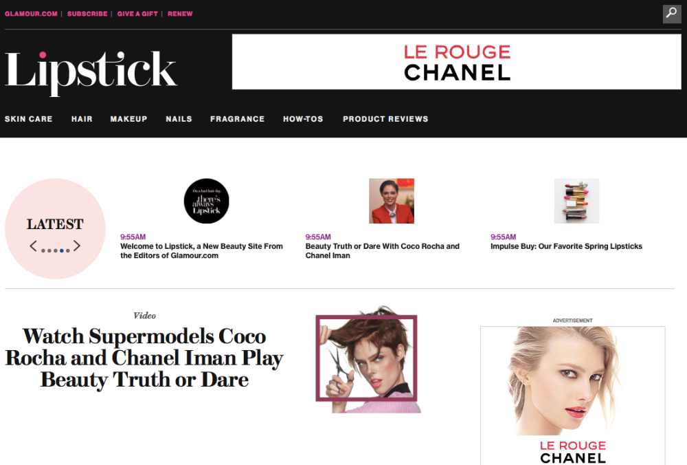 Lipstick.com from Glamour
